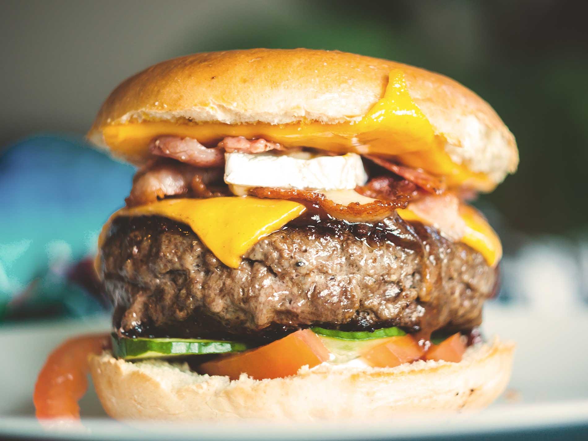 Burgers, Toasties & Wraps